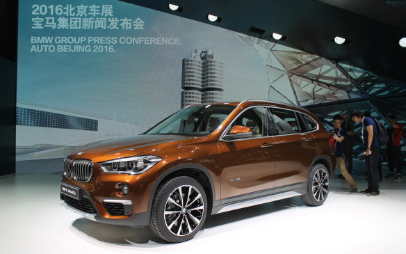 <p>SUVs are now seen as prestigious vehicles that are more practical for the country's bumpy roads and chaotic traffic. This is the stretched version of BMW's X1 that debuted here, made just for the Chinese market.</p>