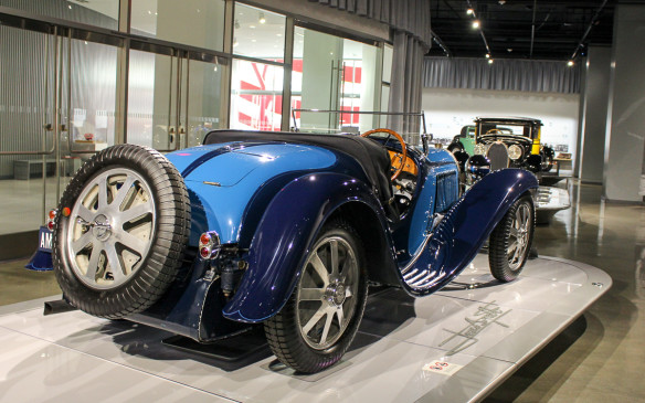 <p><strong></strong>This lightweight, short-wheelbase Type 55 roadster was a road-going version of the Type 51 Grand Prix car. It is one of 38 such models built from 1932 to 1935. With Jean Bugatti's influence, it looked as well as drove like a race car, setting a standard for the day.</p>