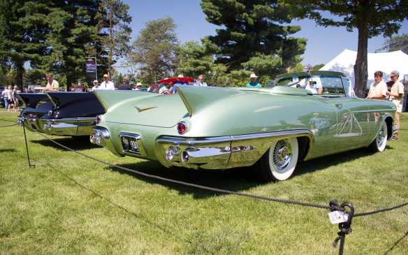 <p>The Biarritz models featured unique fins, different from other Cadillacs of the time.</p>