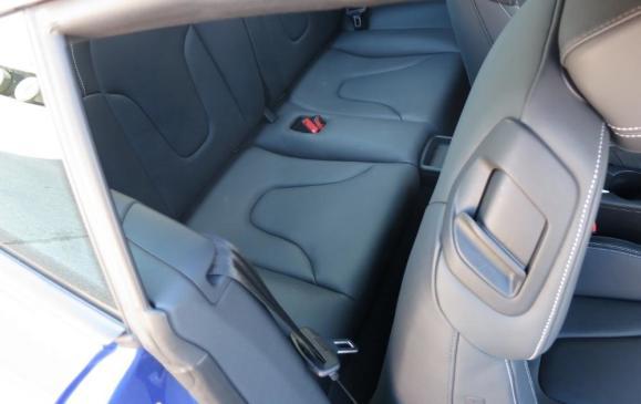 2012 Audi TT RS - Rear Seat