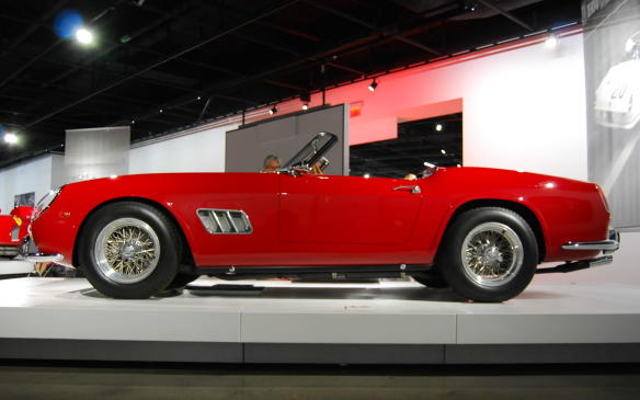 <p>Many of the exotic road-going cars that funded Ferrari's racing efforts are now ranked among the most beautifully designed and engineered cars of all time. Few more so than this 1961 Ferrari California Spyder.</p>