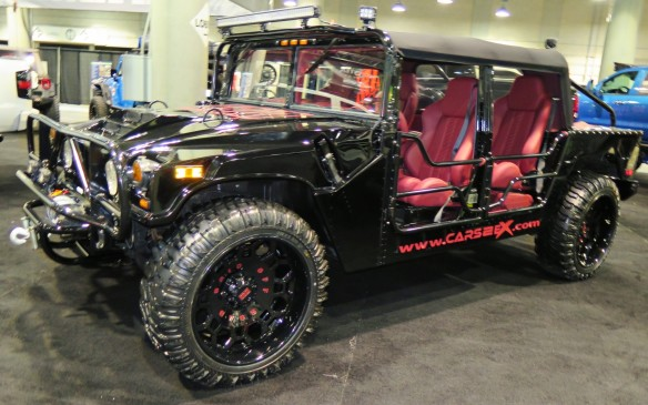 <p>Off-roaders, too, are ripe for the California treatment. Nothing is exempt!</p>