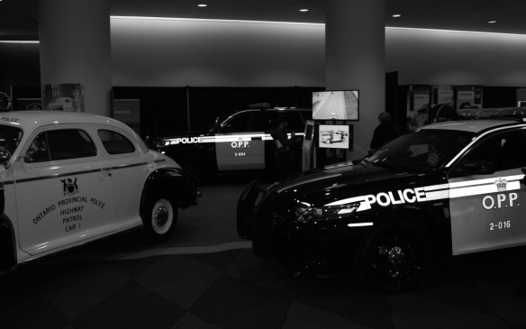 <p>What auto show wouldn't be complete without a glimpse into the autos of our own Ontario Provincial Police. Make sure you ask them to turn the lights on.</p>
