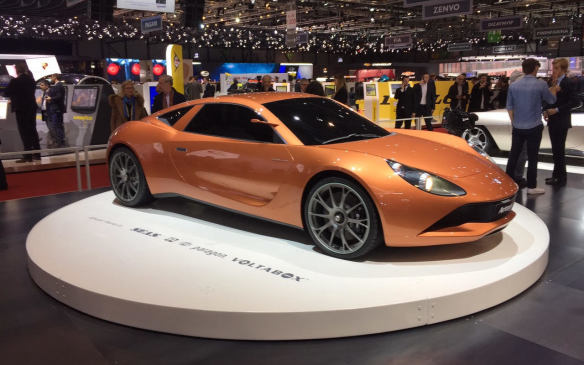 <p>Llittle-known German car company, Artega commissioned Italian coachbuilder Carrozzeria Touring Superleggera to style this electric-powered Scalo Superelletra. Claimed to produce 1000 hp, the car is said to sprint from 0-to-100 km/h in 2.7 seconds and have an operating range of with range of 500 km.</p>