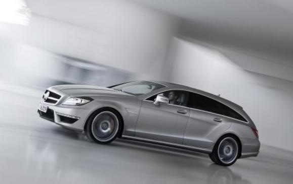 Mercedes-Benz CLS 63 AMG Shooting Brake - Front