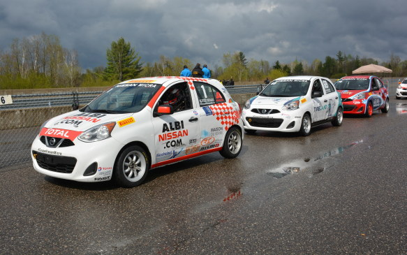 "<p>The Micra Cup is a new racing venture initated in Quebec last year and now expanded to Ontario. The series uses race-specced Nissan Micras – the cheapest new cars available in Canada at $9,988 – outfitted by MIA (Motorsports in Action) based out of St-Eustache, Quebec. The Micra Cup car has been self-labelled: ""the most affordable new race vehicle in Canada.""</p>"