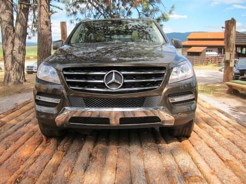 Mercedes 2012 ML Front