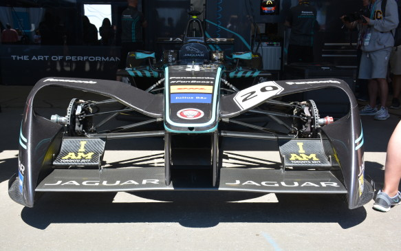 """<p>""""It's incredible to be a part of the future and something that's bigger than racing,"""" adds Evans. """"This is where you should be as a professional race car driver moving forward.""""</p>"""