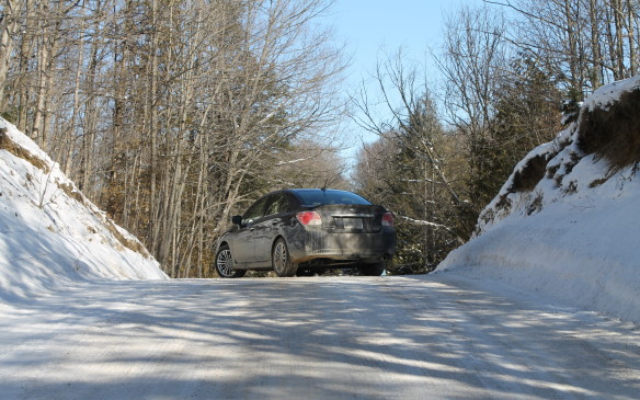 <p>The side roads north of Toronto can be very hilly and this is where all-wheel drive is an advantage in slippery conditions. Getting a grip on an upward slope is easier when all four tires are driving the car, so pulling away in snow is less of a challenge.</p>