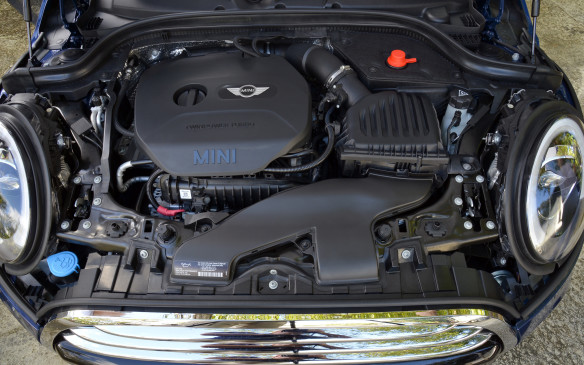 <p><strong>2015 Mini Cooper (1.5-litre turbocharged DOHC I-3) - </strong>Mini garnered praise for the new 1.5-litre turbocharged three-cylinder that is standard equipment on the Cooper hatchbacks. It's essentially three-quarters of the 2.0-litre four-banger found across parent company BMW's line, and eventually in hotter Minis in Cooper S guise. It produces similar horsepower to the outgoing non-turbo 1.6-litre, but offers a stout 162 lb-ft of torque. No longer is the base Cooper a momentum vehicle, but one that's more flexible in its performance. And with tested fuel economy ratings of 7.8 L/100 km at worst, it's frugally fun.</p>