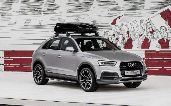 <p>The Audi Q3 was the highest ranking small premium SUV, ahead of the Mercedes-Benz GLA-Class and Land Rover Range Rover Evoque.</p>