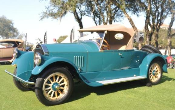 Old Cars - 1926 Pierce-Arrow Series 33 Runabout