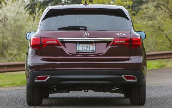 2014 Acura MDX - rear view