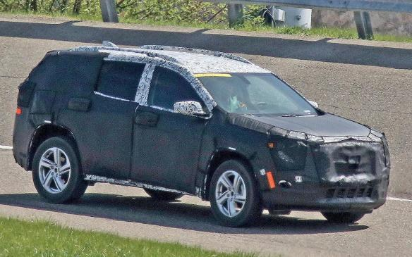 <p>General Motors has more than just the Chevrolet Traverse for 2017, as the Detroit brand is expected to show off the 2018 GMC Terrain. The Terrain is another vehicle that hasn't seen a makeover since the turn of the decade, yet its sales have stayed consistent throughout the years.</p> <p>The all-new Terrain makes sense considering the Chevrolet Equinox that it shares a platform with just went over a similar remodel. We don't know about powertrains just yet, but there are rumours that a diesel may be in the cards as an option on top of its expected four-cylinder gasoline engine. General Motors has gone on record to say the Terrain will take on a more rugged design.</p>