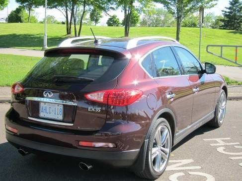 Infiniti EX35 2011 rear