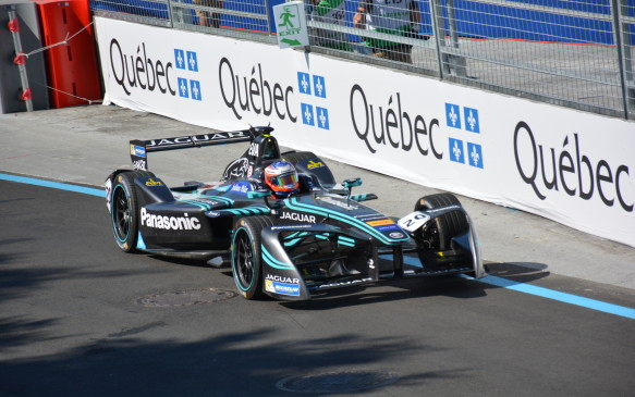 <p>Panasonic Jaguar Racing is the latest team to join Formula E. Its I-Type electric race car is powered by a 200 kW electric motor that can accelerate the open-wheeled racer from 0-100 km/h in 2.9 seconds with a top speed of 225 km/h.</p>
