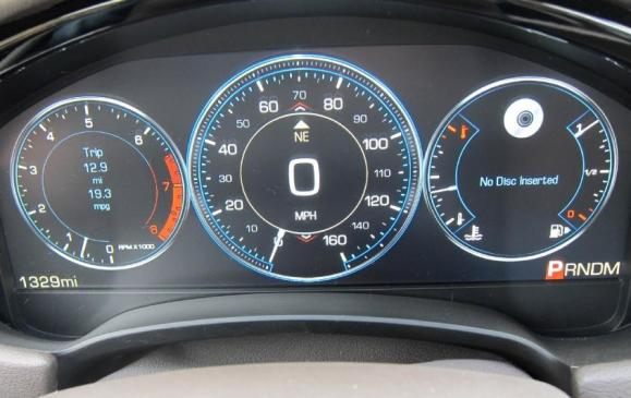 2013 Cadillac XTS - instrument cluster