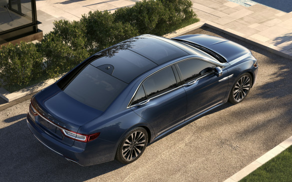 <p>The rear-seat package also includes a panoramic, two-section moonroof that fills almost the entire roof. It can be bought as a separate option for $2,200 without the rear package, if you prefer.</p>