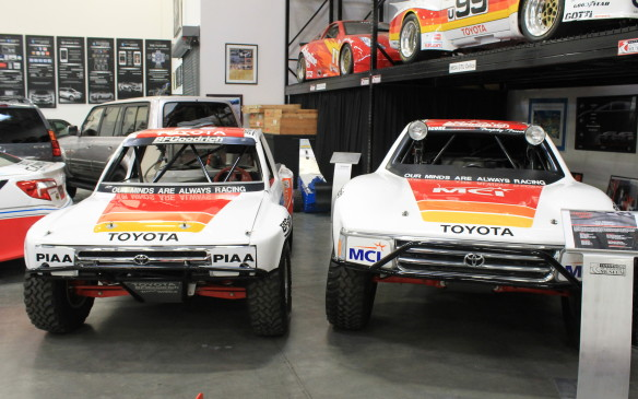 <p>Ivan Stewart earned 33 wins and 10 drivers' championships in the SCORE desert series of the 1980s and '90s. In 1993, his Team Toyota trophy trucks won the Crown Jewels of desert racing: the Nevada 400, Baja 500 and Baja 1000.</p>