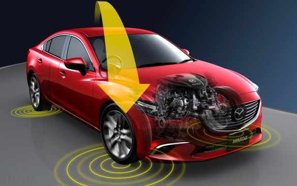 "<p>Another feature to improve steering response was the addition of Mazda's <a href=""http://www.autofile.ca/en-ca/auto-articles/latest-mazda-skyactiv-technology-is-subtle-but-very-effective"">G-Vectoring Control</a>, which reduces engine torque as the driver turns the steering wheel, shifting load to the front wheels for a more linear cornering response. On the road, especially on the hilly, winding two-lane routes, it was easy to forget you were driving a utility vehicle – it's steering and handling manners felt more like a Miata. There was minimal body roll, the ride was comfortable but not floaty, and the steering was precise, with little need for correction when carving through the often-tight corners. It's safe to say the engineers achieved their goal.</p>"