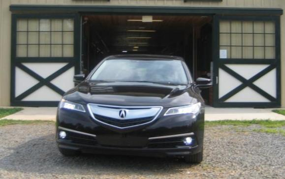 2015 Acura TLX - front view