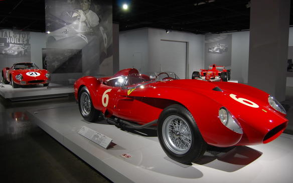 "<p>Before there was the LM, there was the legendary 250 TR – one of the most successful Ferrari race cars ever built. The TR stands for Testa Rossa (Italian for ""red head""), in reference to the red valve covers on the engine, not the famous red body colour so strongly associated with Ferrari.</p>"
