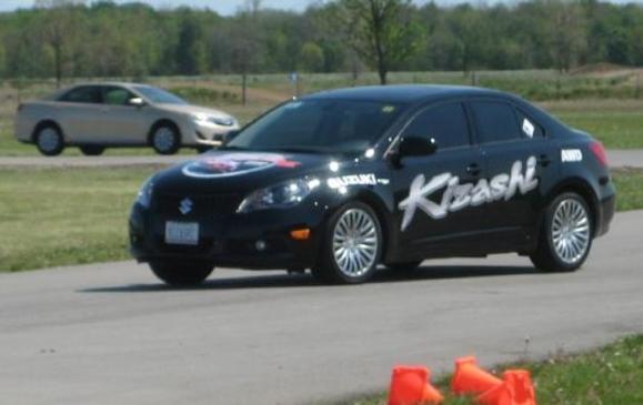 2012 Suzuki Kizashi - on track 2