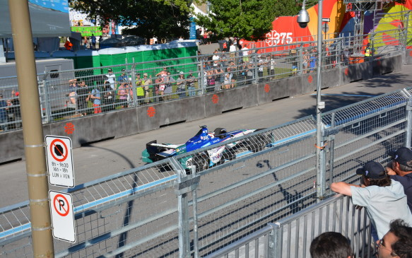<p>All the world-class hosting cities chosen had their races on temporary city-centre street circuits. The Montreal track runs through the downtown core and is 2.75 km in length with a total of 14 turns (5 left and 9 right).</p>