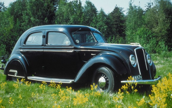 "<p><strong>1935-1938 Volvo PV36 Carioca</strong></p> <p>In the 1930s Volvo joined many other automakers by jumping onto the ""streamlined"" bandwagon – note the spats covering the rear wheels -- with the PV36 Carioca. The car was styled by a designer that Volvo had poached from an American automaker. But the look was too radical and controversial for its time and the Carioca was discontinued after only 500 were built  </p>"