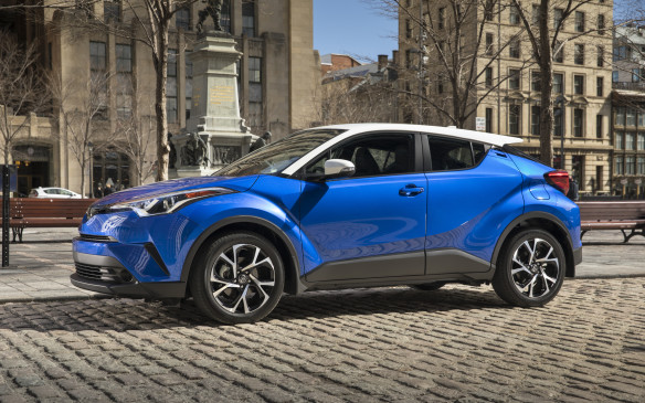 <p>Toyota's new C-HR is the long-awaited, smaller alternative to the brand's best-selling RAV-4, replacing the discontinued Matrix. And it's aimed not at traditional conservative Toyota buyers but at young urban hipsters. </p> <p>By Mark Richardson</p>