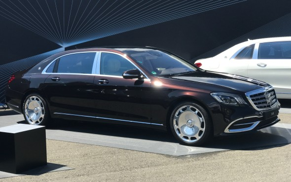 First Look 2018 Mercedes Maybach S650 And Pullman Autofile Ca