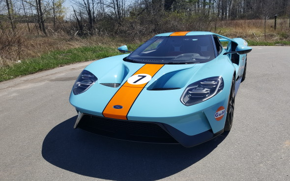 Ford Gt From Car Cathedral Collection Angelo Palettas Ford Gt With Aftermarket Gulf Livery Tribute