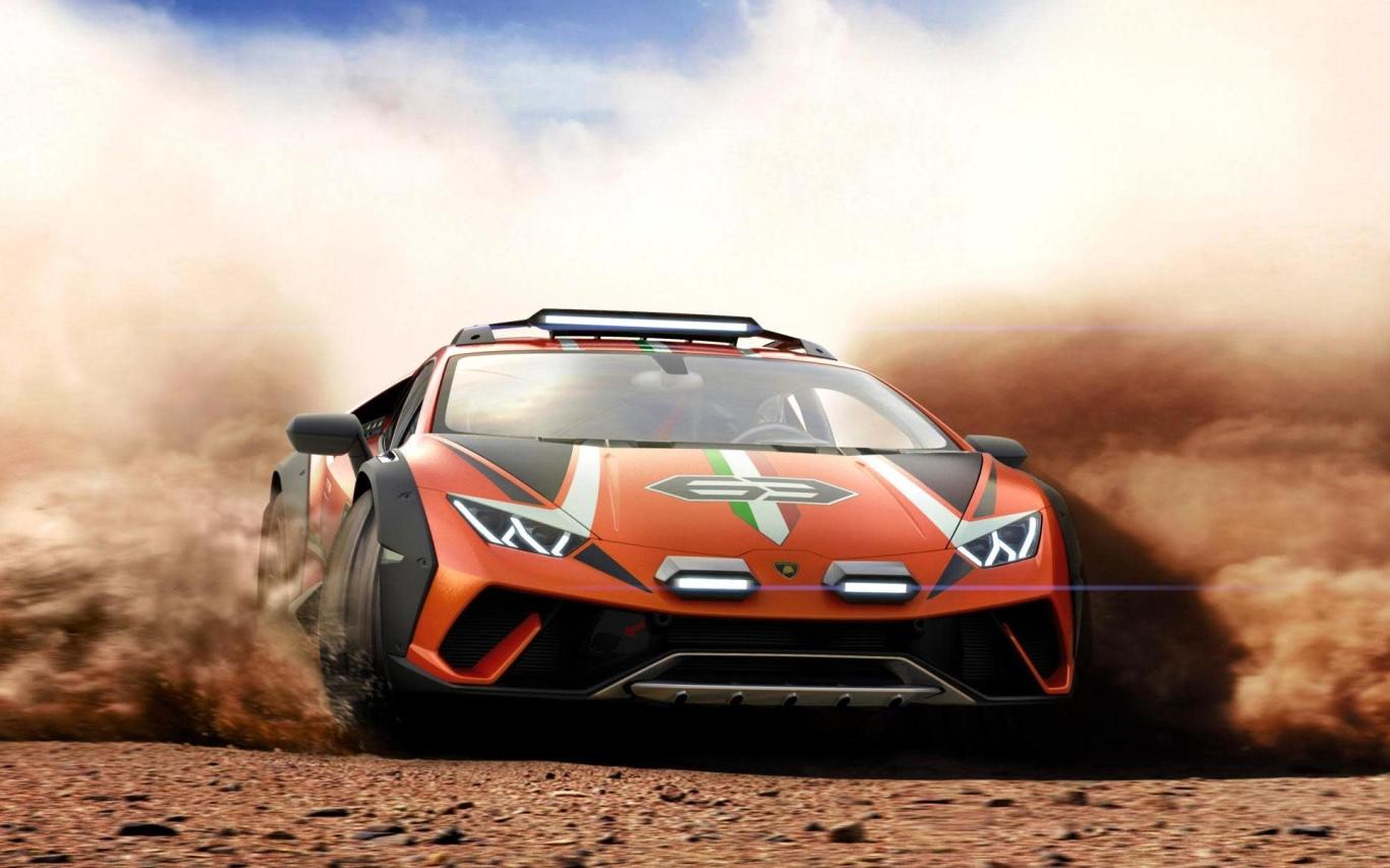 Lamborghini sends Huracan off the beaten path