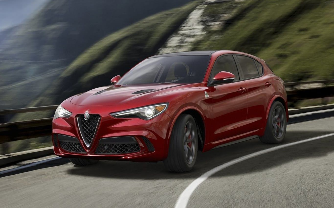 Alfa crosses up its seductive design with Stelvio