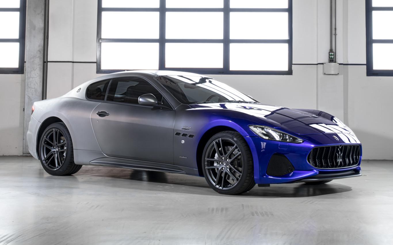 Maserati celebrates end of GranTurismo production with Zeda