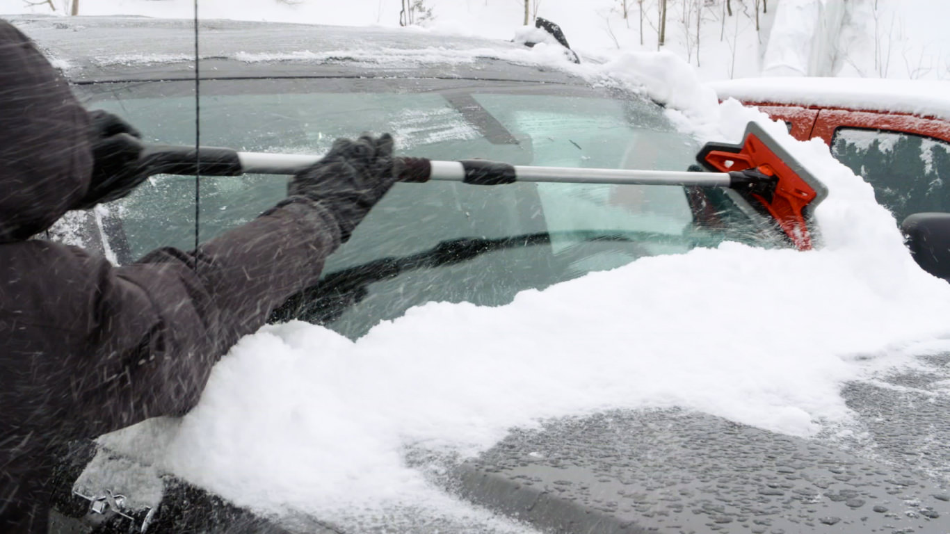 Goodyear G61 Car Snow Brush