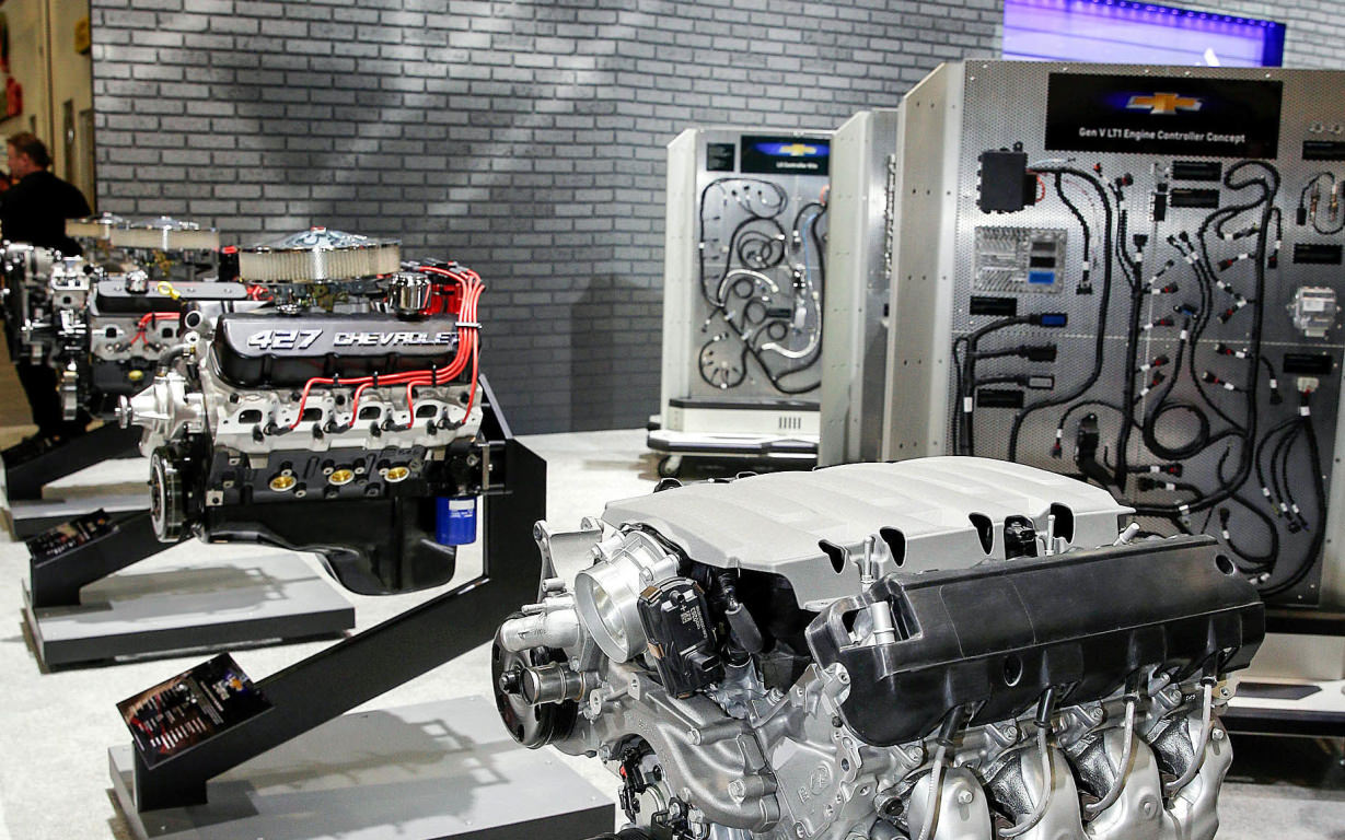 Flipboard: Chevrolet showcases new crate engines at SEMA