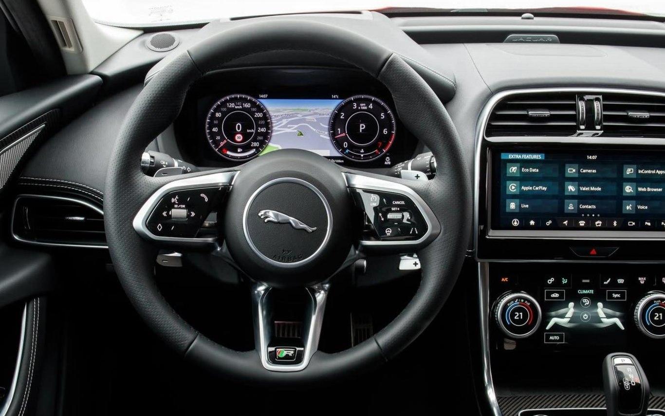 Jaguar looks at thermal feedback on steering wheels