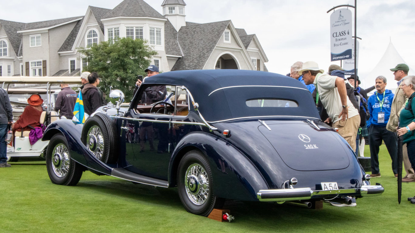 Classic cars to lust for at 2019 Cobble Beach Concours