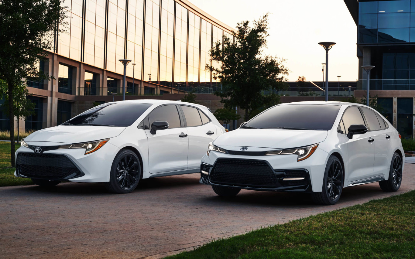 Toyota Corolla ready to take on the night for 2020