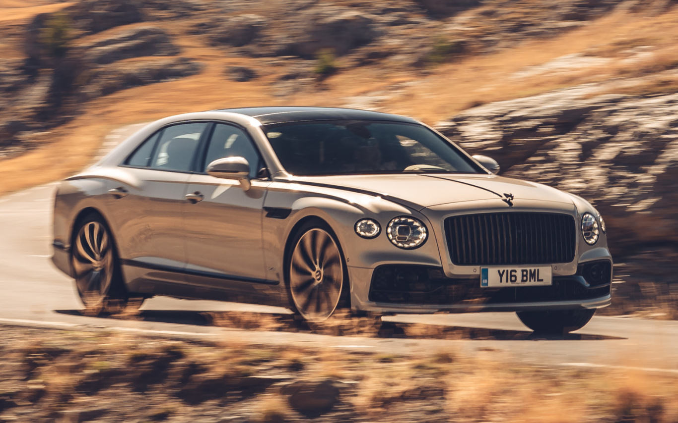 Bentley moves new Flying Spur into the Black