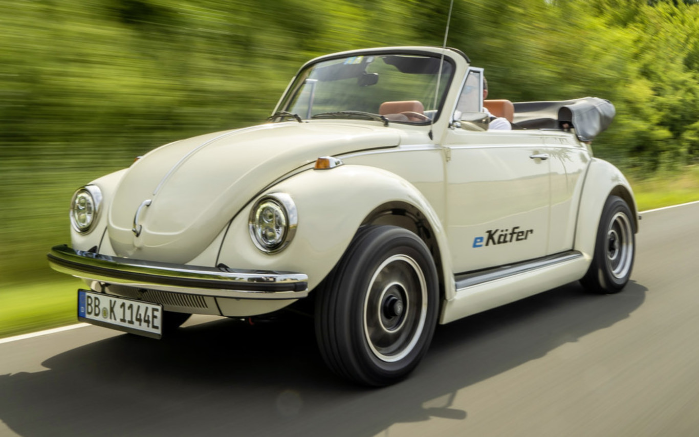 Volkswagen offers old Beetles new life as electric cars