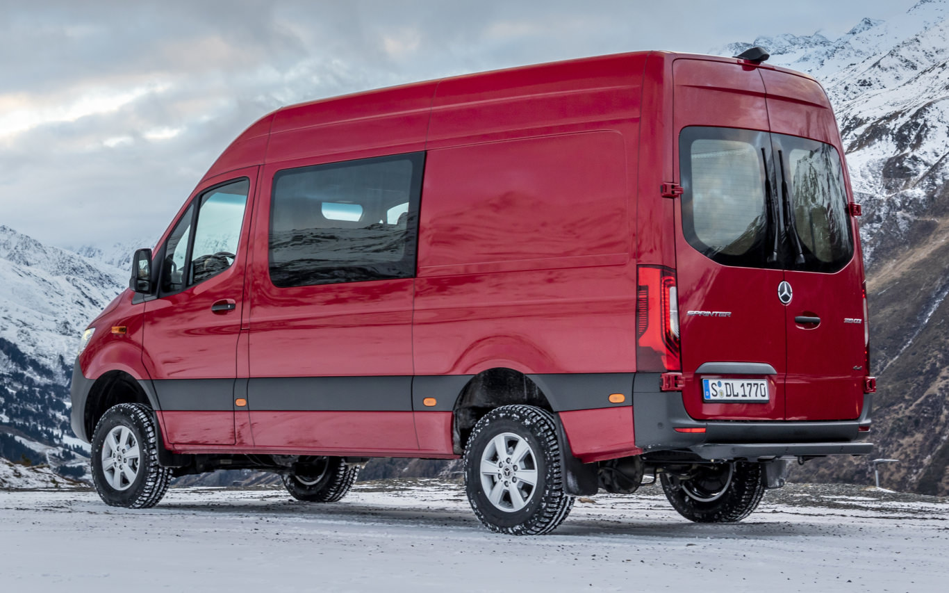 Mercedes-Benz adds better traction to Sprinter 4x4   Autofile ca