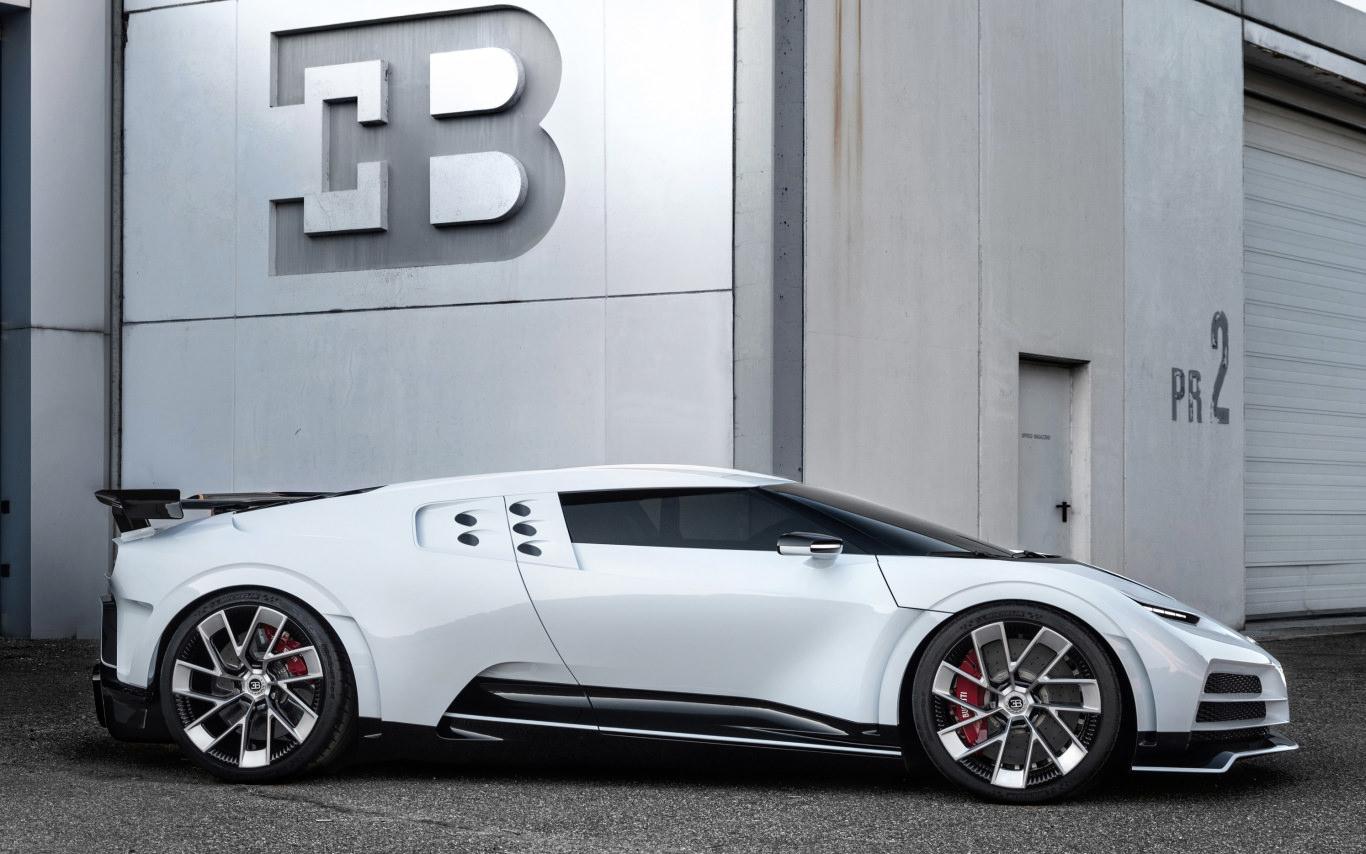 Bugatti celebrates milestones with Centodieci