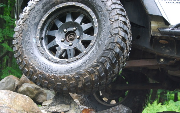 TIRE TEST: BFGoodrich Mud-Terrain T/A KM3 acts and looks