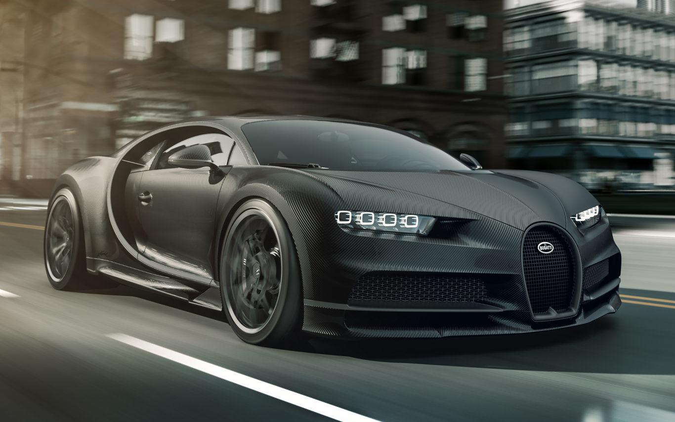 Bugatti commemorates La Voiture Noire in special Chiron editions