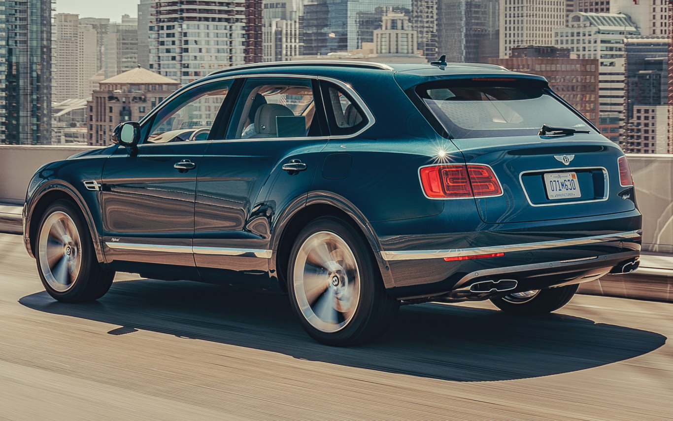 Bentley says Bentayga Hybrid is world's only true luxury PHEV SUV