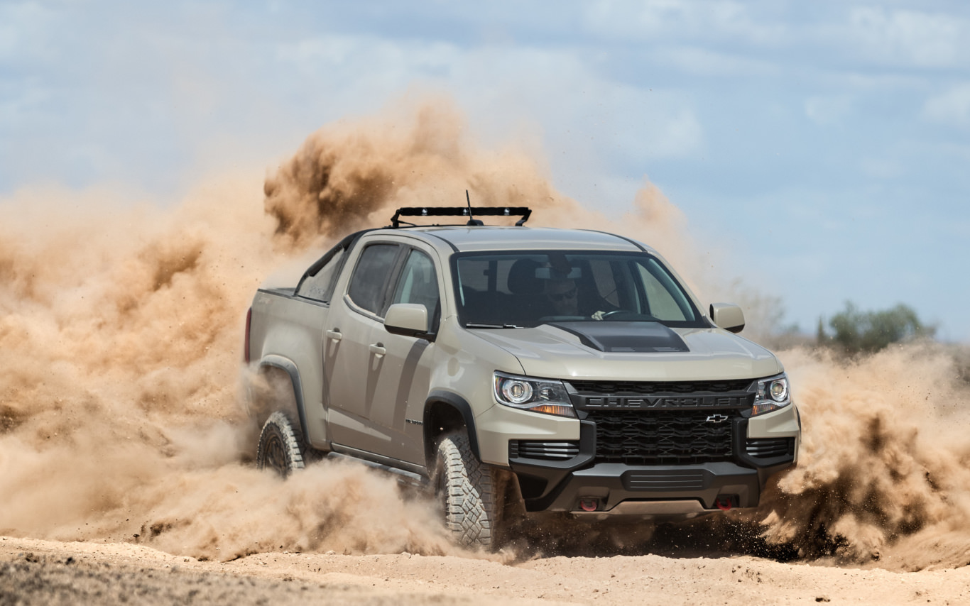 How can you make the Chevy Colorado look more rugged?