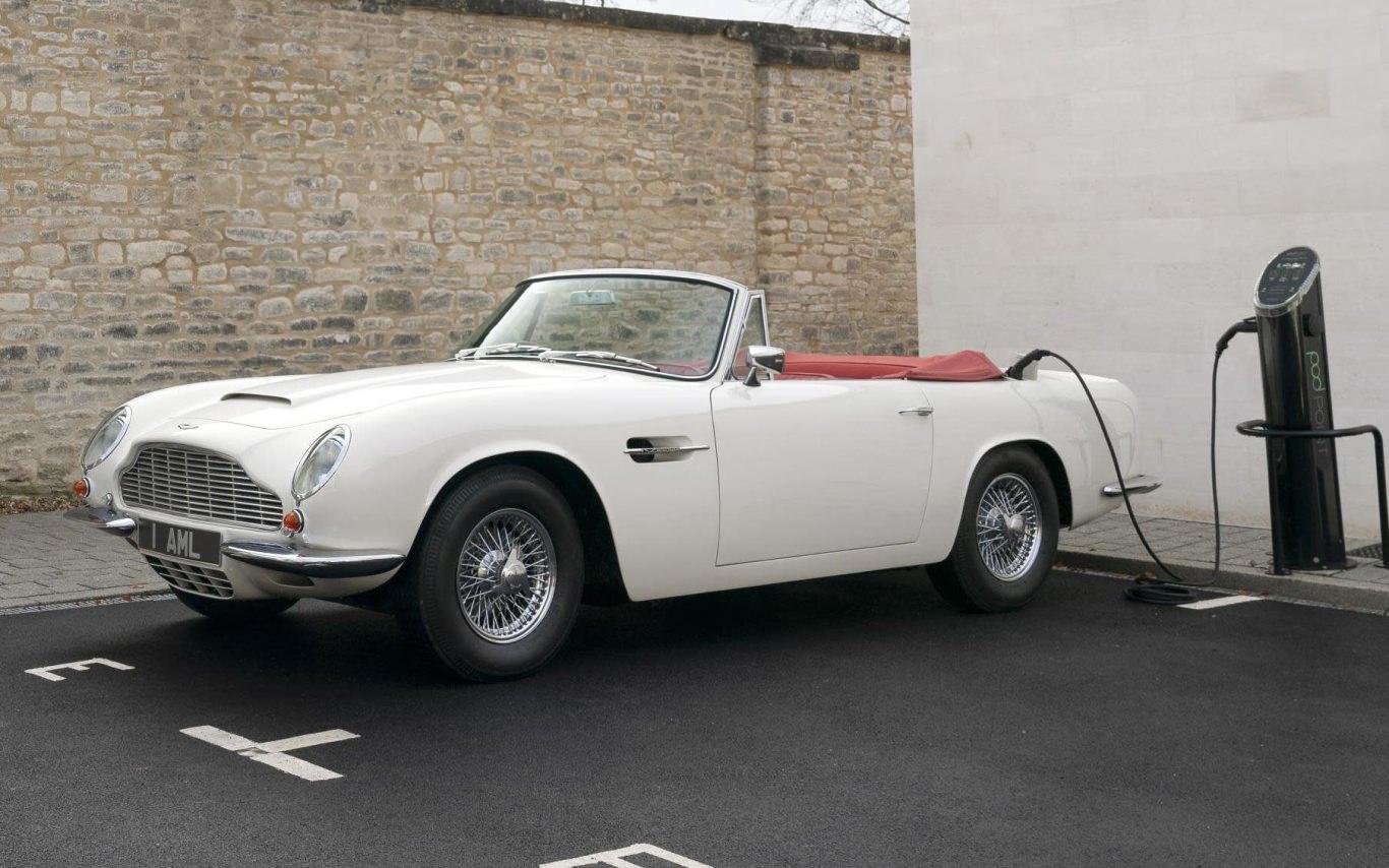 Aston Martin makes EV-conversion for classic cars