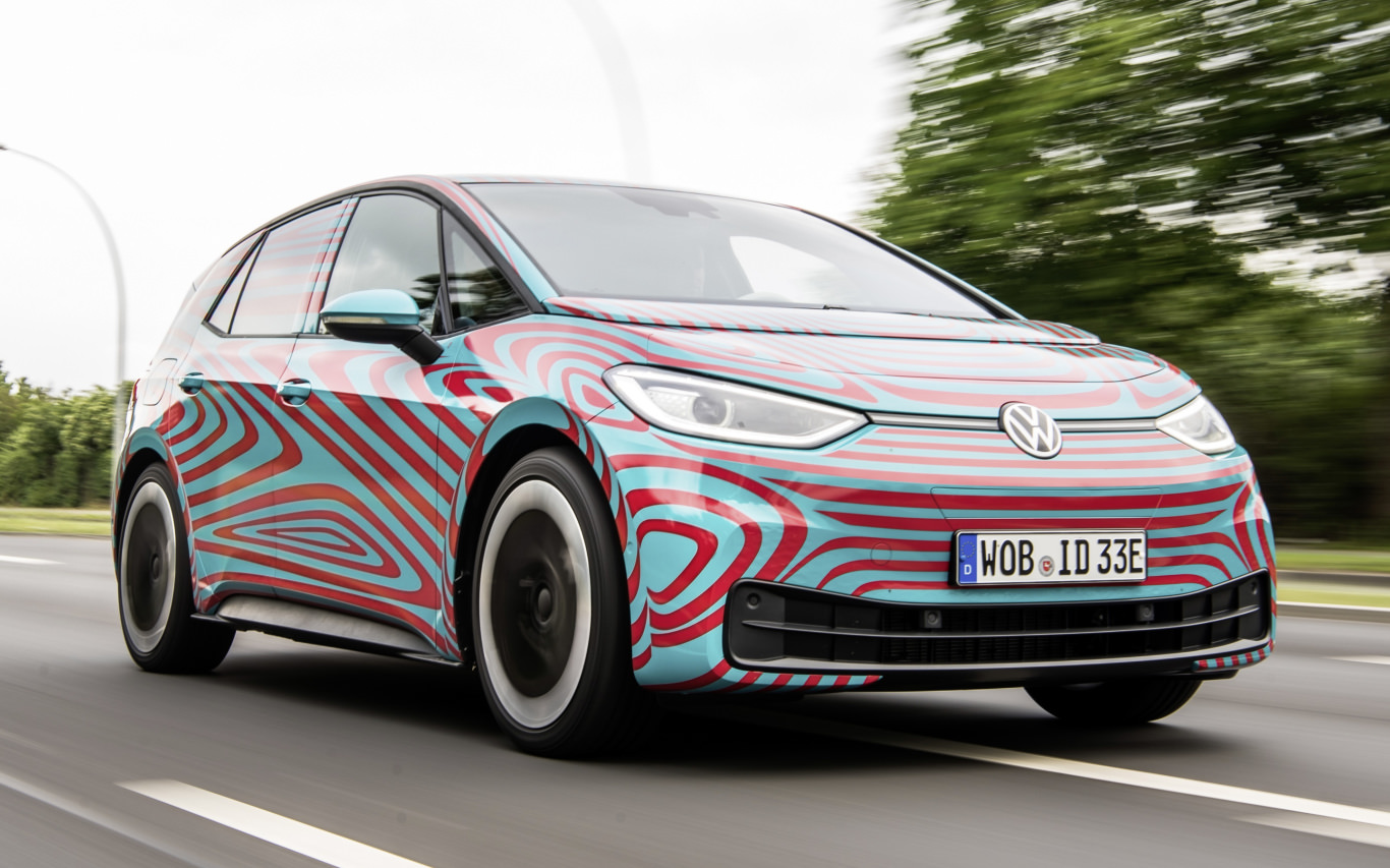 Volkswagen ID.3 electric car ready for its Frankfurt debut